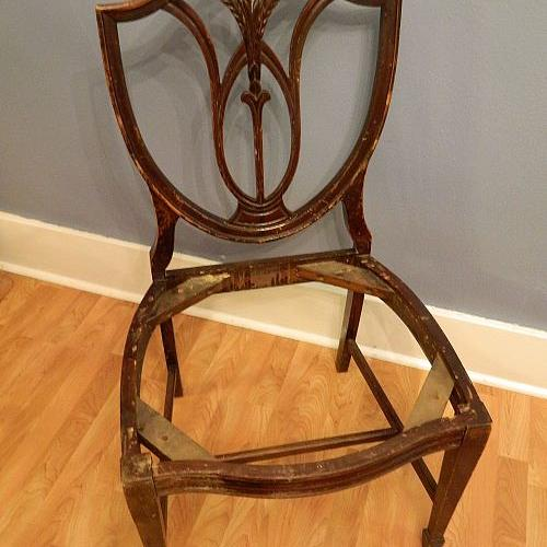 what should i do with this pretty but beat up chair, chalk paint, painted furniture