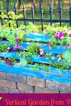 how to make a vertical garden from a pallet, diy, gardening, how to, pallet, succulents, Turning a pallet into a vertical garden is an inexpensive way to create something unique and beautiful for your yard