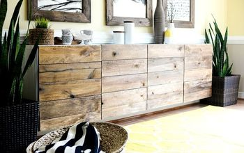 diy reclaimed wood buffet ikea hack, how to, painted furniture, repurposing upcycling, wall decor, woodworking projects