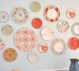 plastic plate wall home decor wall decor Bought all the plastic plates at & Plastic Plate Wall Hack | Hometalk