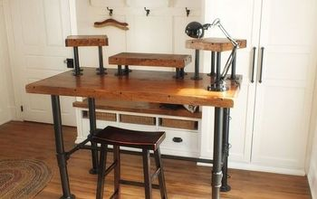 Industrial desk reveal 1 - 3
