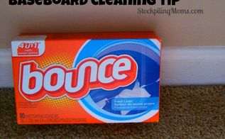 baseboard cleaning tip, cleaning tips, Baseboard Cleaning Tip