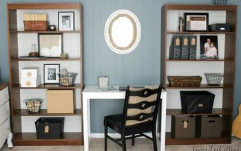 Farmhouse Chic Office Makeover