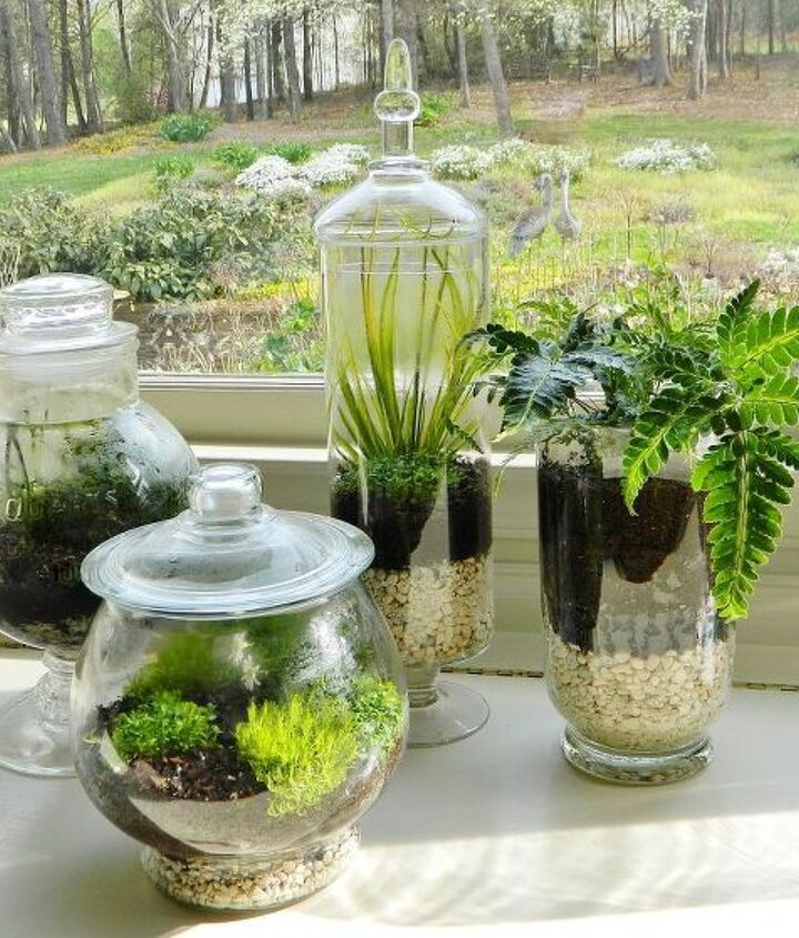 A great idea for those vintage containers you've been storing away