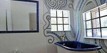 bathroom mosaic, bathroom ideas, tiling, I call it Wall Jewelry