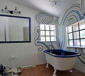 Amazing Bathroom Mosaic, Bathroom Ideas, Tiling, I Call It Wall Jewelry