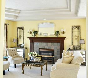 Superieur My Traditional Meets French Country Living Room Makeover, Home Decor, Living  Room Ideas
