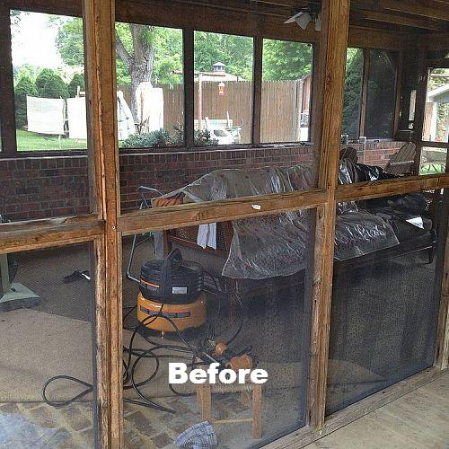 From Simple Screened Porch To Entertaining Oasis Hometalk