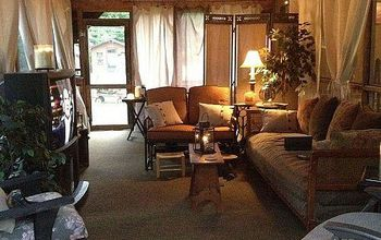 From Simple Screened Porch to Entertaining Oasis *Cheap