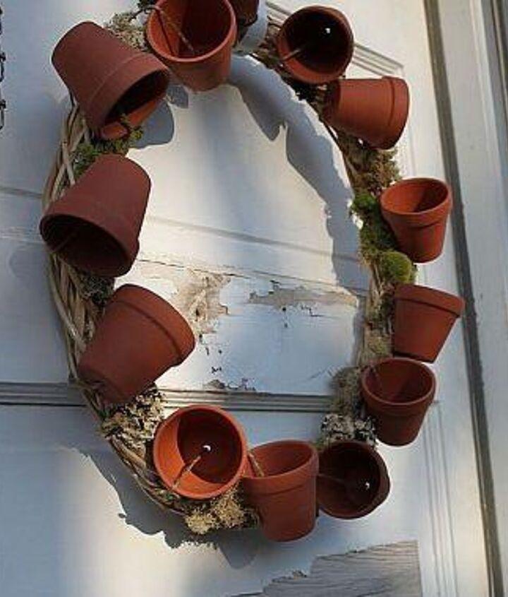 diy living wreath, crafts, wreaths