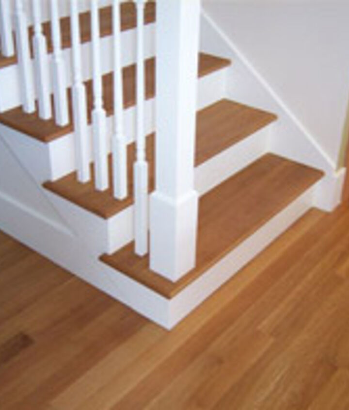 These are not my stairs but are very similiar in both material and look.