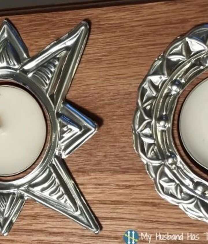 diy tea light candle holder, crafts, how to, repurposing upcycling