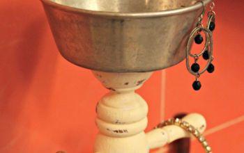 Thrift Shop Mug Tree Re-purposed For Jewelry