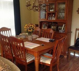 Hi Id like to paint my dining room table and china cabinet using