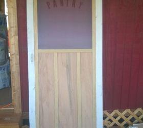New Old Pantry Door, Closet, Doors, Kitchen Design