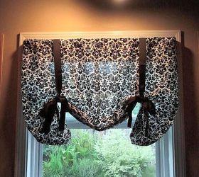 Exceptionnel DIY No Sew Kitchen Curtains