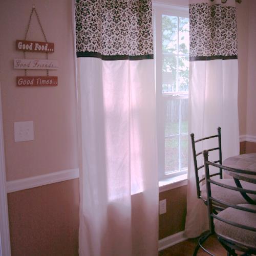DIY No Sew Kitchen Curtains | Hometalk
