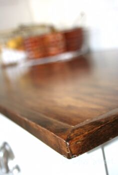 make your own beautiful wood countertops for under 200, countertops, diy, how to, kitchen design, kitchen island, woodworking projects
