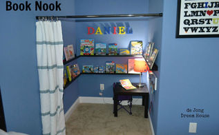 uses for tension rods, cleaning tips, closet, home decor, Use a tension rod or shower rod whatever works in your space to create a book nook or secret hideaway for the kids