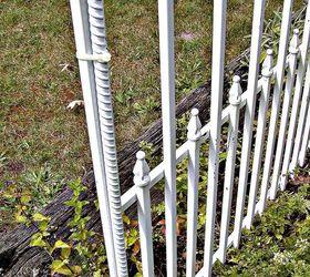 Metal Dog Gate Repurposed Into Decorative Garden Accent, Fences, Gardening,  Repurposing Upcycling,