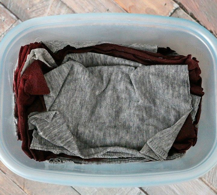 s 10 brilliant things to do before you start spring cleaning, cleaning tips, Gather all your old ratty t shirts