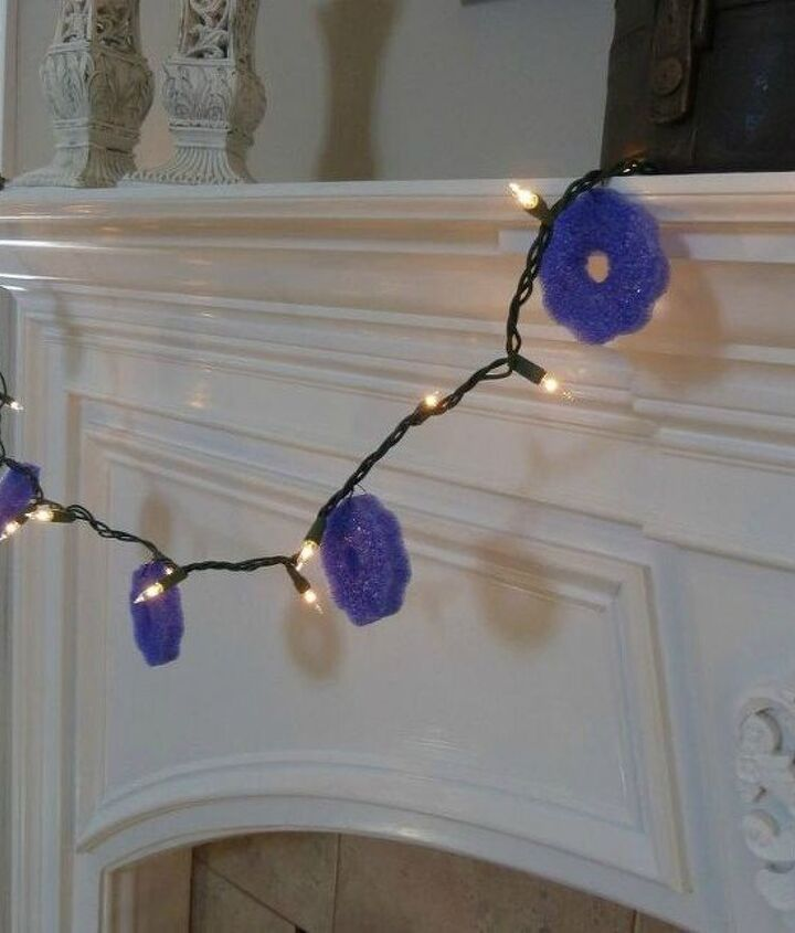 s 10 insanely creative ways to use pool noodles outside the pool, crafts, repurposing upcycling, Add slices to a string of lights
