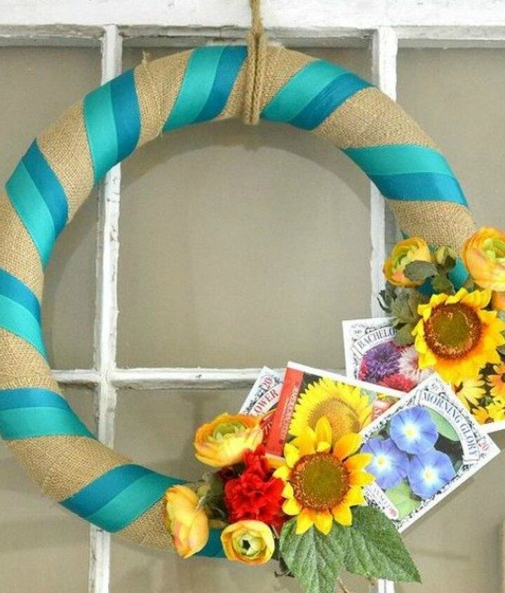 s 10 insanely creative ways to use pool noodles outside the pool, crafts, repurposing upcycling, Craft a colorful spring wreath