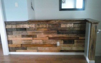 My Very Own Pallet Wall.