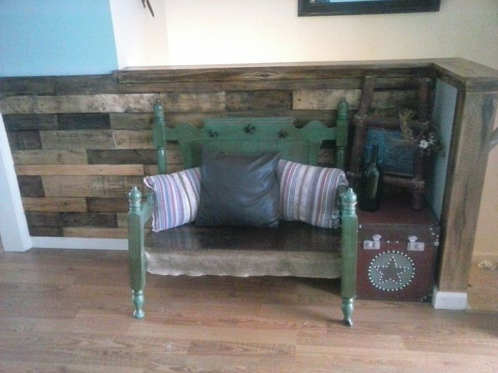 my very own pallet wall, diy, pallet, wall decor