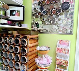 Craft Room Storage Part - 42: My Craft Room Storage Problem Is Driving Me Up The Wall, Craft Rooms, Crafts