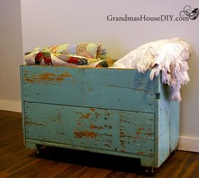 my grandma s old carrot bin becomes our living room storage box repurposing upcycling & My Grandmau0027s Old Carrot Bin Becomes Our Living Room Storage Box ...