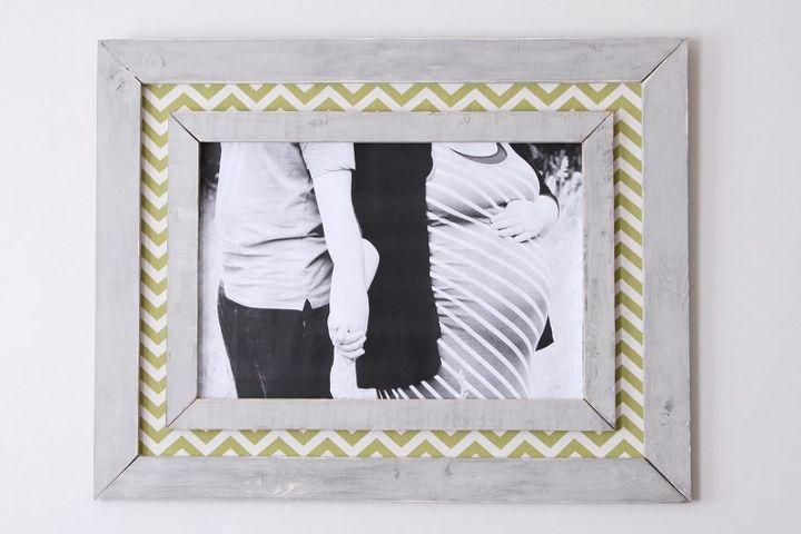 DIY Gigantic Double Frame   Hometalk