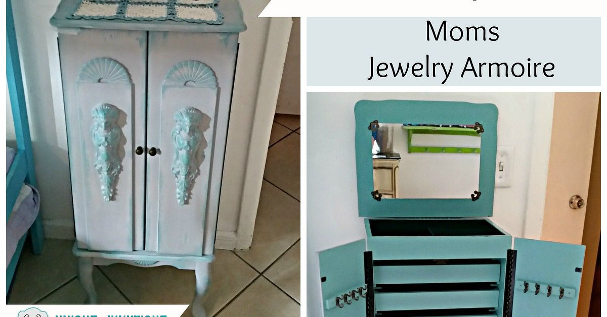 Repaint Jewelry Armoire