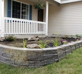 Up Your Curb Appeal With A Stunning Retaining Wall, Concrete Masonry, Curb  Appeal,