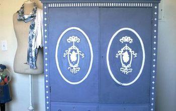Craft Cabinet Makeover!
