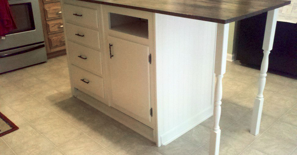 repurpose old kitchen cabinets base cabinets repurposed to kitchen island hometalk 25497
