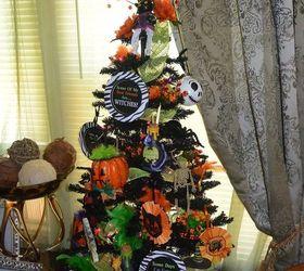 halloween christmas tree diy ornaments crafts halloween