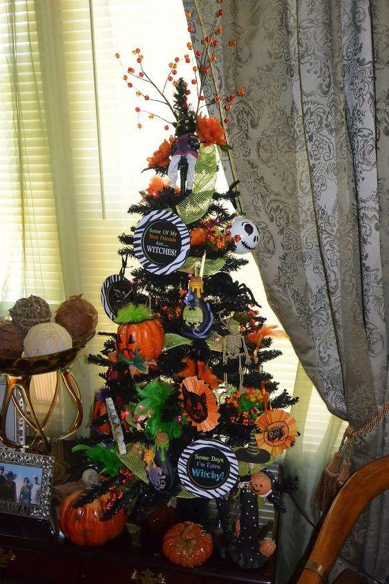 halloween christmas tree diy ornaments crafts halloween decorations seasonal holiday decor my - Halloween Christmas