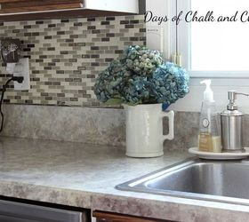 Painted Laminate Countertops, Countertops, Painting