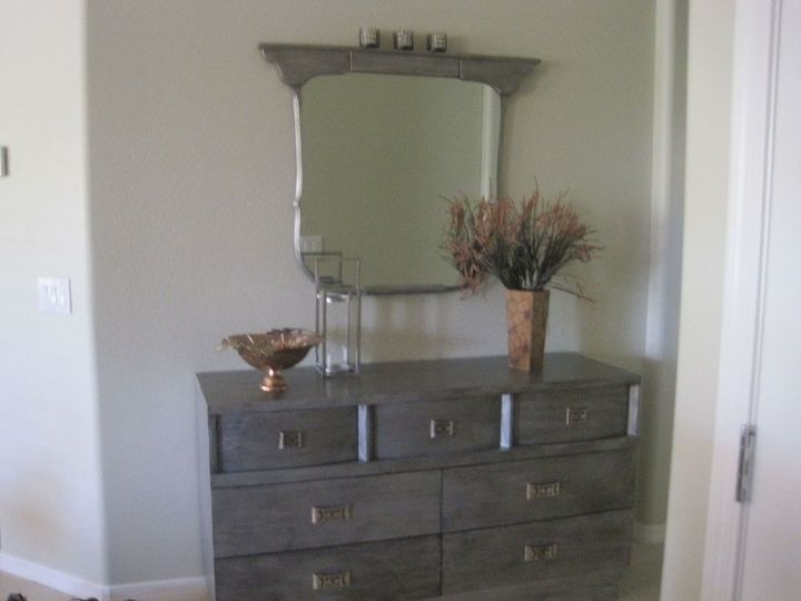 my dresser i use as a foyer chest in my new home in az, painted furniture