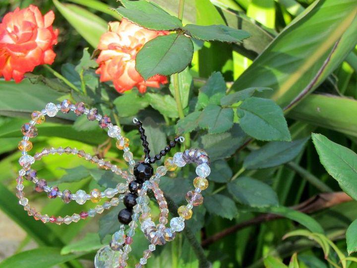 Crystal Butterfly Garden Stake   Hometalk