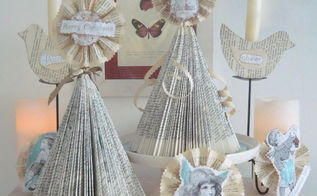 diy vintage shabby shic christmas tree christmas ornaments, seasonal holiday d cor