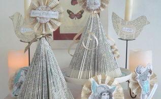 diy vintage shabby shic christmas tree christmas ornaments, seasonal holiday d cor