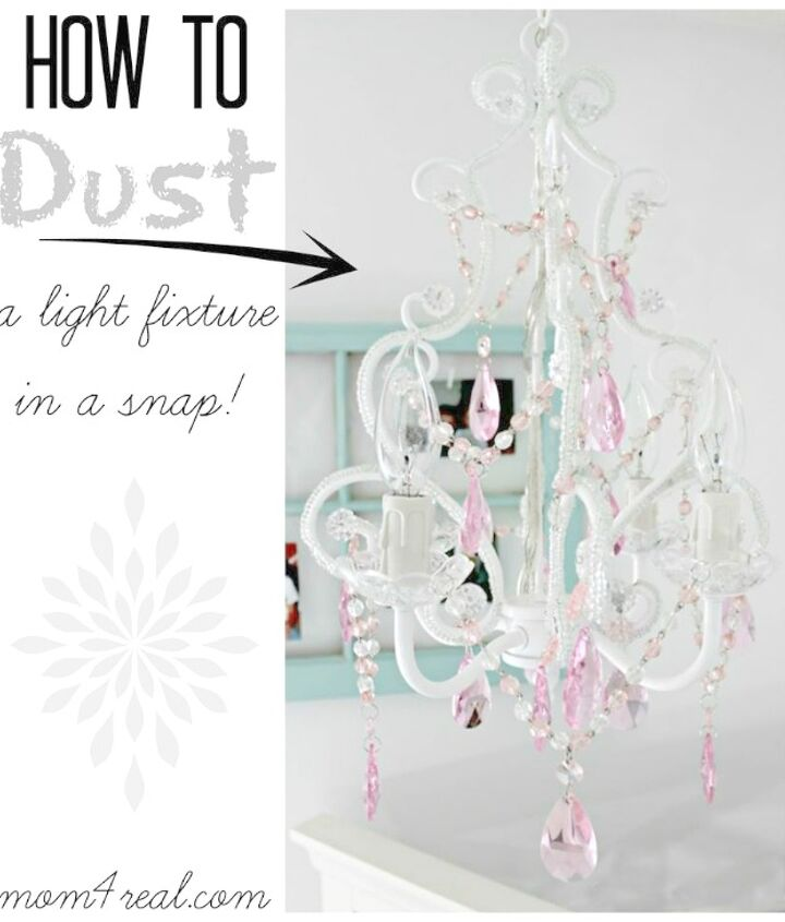 Clean any light fixture or chandelier in minutes using one tool!