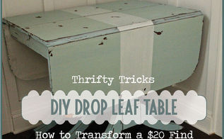 drop leaf table with mmsmp makeover, painted furniture, A 20 CL find transformed with a simple sort of MMSMP makeover