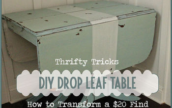Drop Leaf Table With MMSMP Makeover