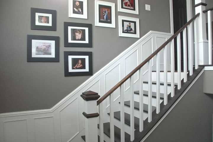 remodeled foyer step by step, diy, foyer, home decor, home improvement, stairs, The final product