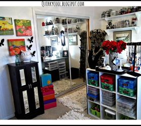 Closet Office Craft Room Combination Budget, Craft Rooms, Home Decor, Home  Office,
