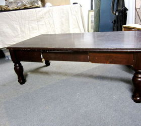 How To Turn A Coffee Table Into An Ottoman, Painted Furniture, Repurposing  Upcycling