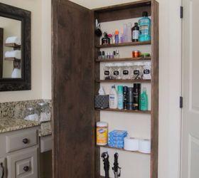 DIY Bathroom Storage Cabinet Hometalk
